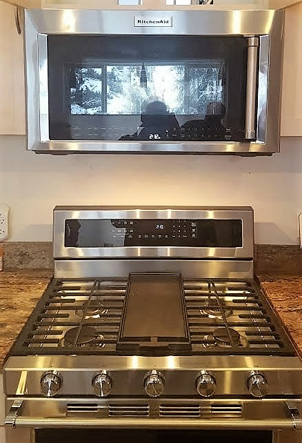 Gas Range Installation - Anchorage, AK